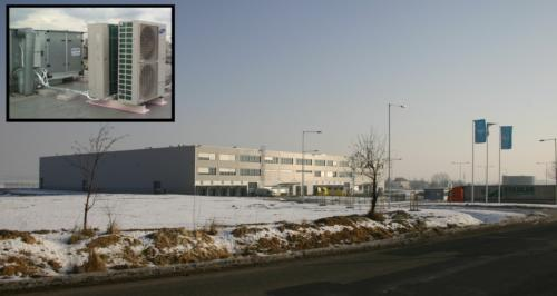 Výrobní hala Arvato Stochov. Obrat 0,8 mil Kč