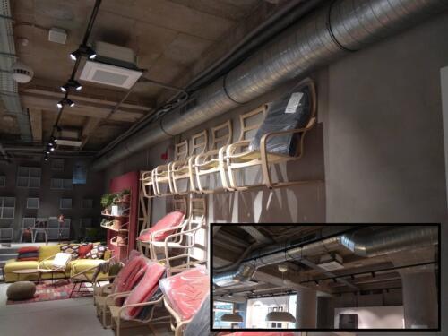 Obchodní plocha Ikea. Obrat 1,2 mil Kč
